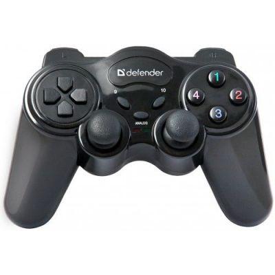 Беспроводной геймпад Game Master Wireless USB, радио, 12 кнопок, 2 стика