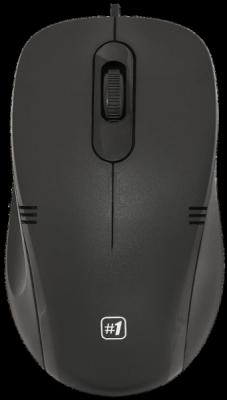 НОВИНКА. Проводная оптическая мышь MM-930 черный,3 кнопки,1200dpi