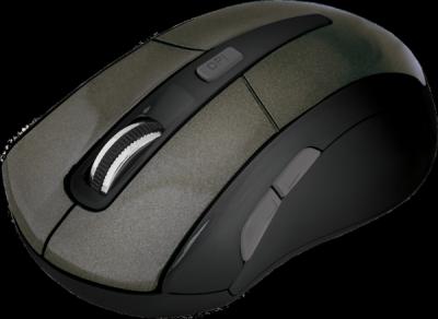 НОВИНКА. Беспроводная оптическая мышь Accura MM-965 коричневый,6кнопок,800-1600dpi