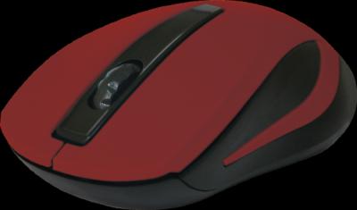 НОВИНКА. Беспроводная оптическая мышь MM-605 красный,3 кнопки,1200dpi