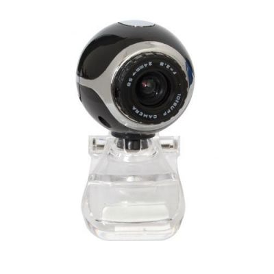 Веб-камера C-090 0.3МП, черный