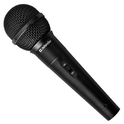 Микрофон караоке MIC-130 черный, кабель 5 м