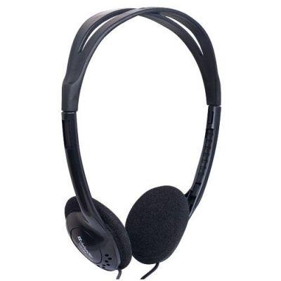 Наушники накладные Aura 101 черный, кабель 1,8 м