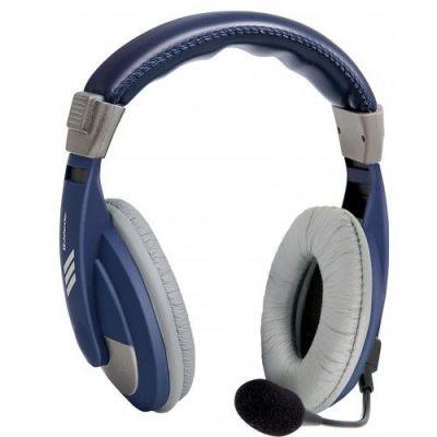 Компьютерная гарнитура Gryphon 750 синий, кабель 2 м