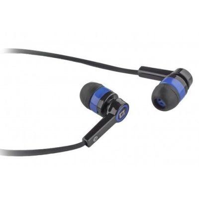 Гарнитура для смартфонов Pulse 420 черный + синий, вставки