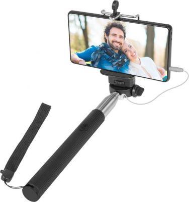 Штатив для селфи Selfie Master SM-02 черный, проводной, 20-98 см