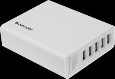 Внешний аккумулятор ExtraLife Multi 13000 mAh, 5xUSB, 5V/0,5-2,1A