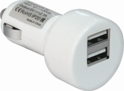 НОВИНКА. Автомобильный адаптер UCA-15 2 порта USB, 5V/2А, блистер