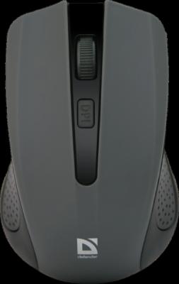 НОВИНКА. Беспроводная оптическая мышь Accura MM-935 серый, 4 кнопки,800-1600 dpi