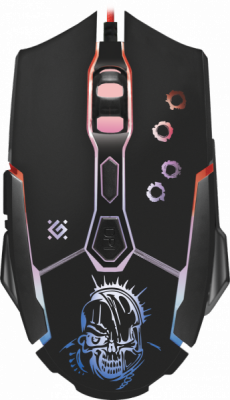 Проводная игровая мышь Defender Killer GM-170L оптика,7кнопок,800-3200dpi