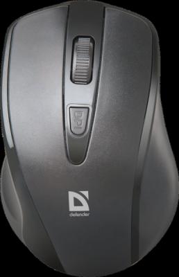 НОВИНКА. Беспроводная оптическая мышь Datum MM-265 черный,3 кнопки,1600 dpi